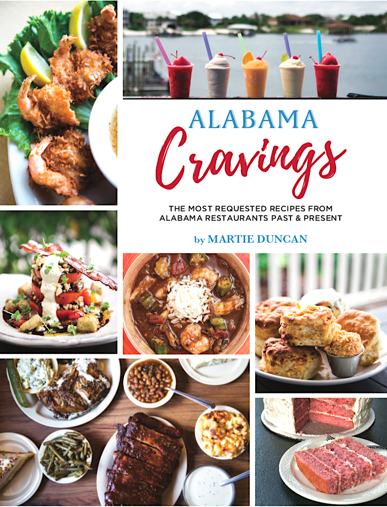Alabama Cravings Cookbook cover
