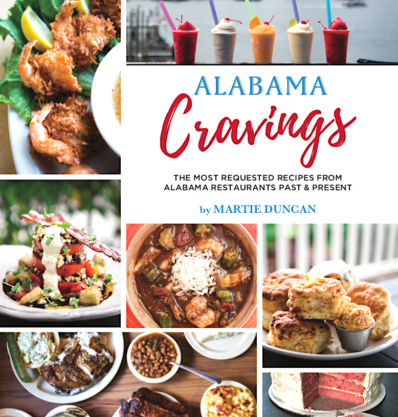 Alabama Cravings Cookbook cover
